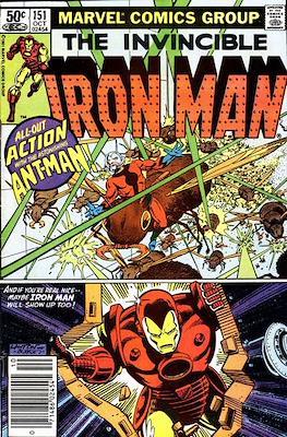 Iron Man Vol. 1 (1968-1996) (Comic book) #151