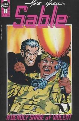 Mike Grell's Sable (1990) (Grapa) #6