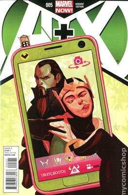 A+X (Variant Covers) (Comic Book) #5