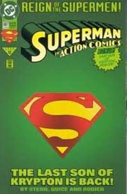 Action Comics Vol. 1 (1938-2011; 2016-) (Comic Book) #687.1