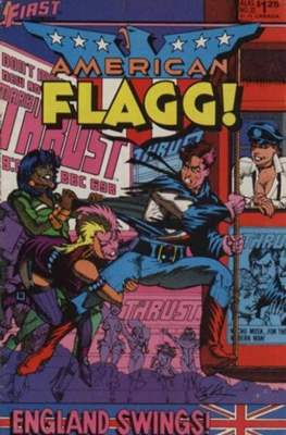 American Flagg! (Comic book) #23