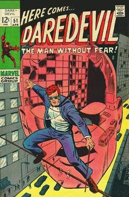 Daredevil Vol. 1 (1964-1998) (Comic Book) #51