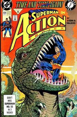 Action Comics Vol. 1 (1938-2011; 2016-) (Comic Book) #664