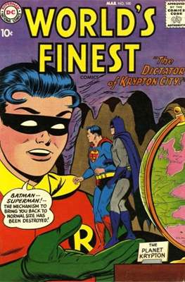 World's Finest Comics (1941-1986) #100