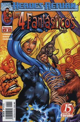 Los 4 Fantásticos Vol. 3 (1998-2001). Heroes Return (Grapa 24-48 pp) #3