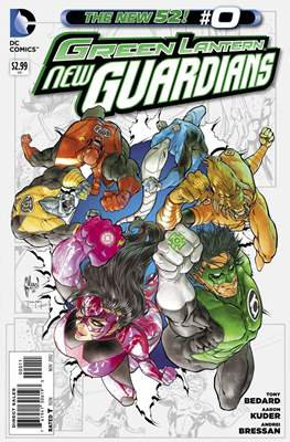 Green Lantern New Guardians (2011-2015)