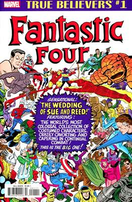 True Believers: Fantastic Four - The Wedding of Sue and Reed