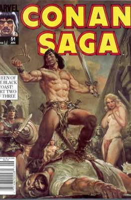Conan Saga (Comic-book) #51