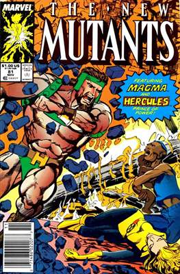The New Mutants (Grapa) #81