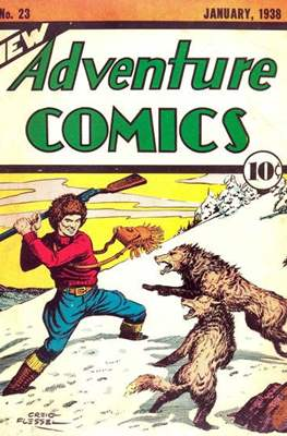 New Comics / New Adventure Comics / Adventure Comics (1935-1983; 2009-2011) (Saddle-Stitched) #23