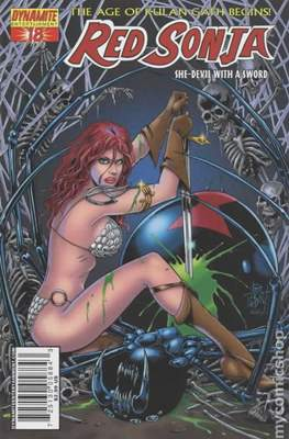 Red Sonja (Variant Cover 2005-2013) #18.4