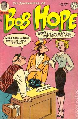 The adventures of bob hope vol 1 #28