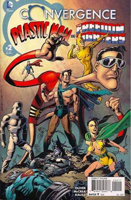 Convergence: Plastic Man and the Freedom Fighters (Comic-Book) #2