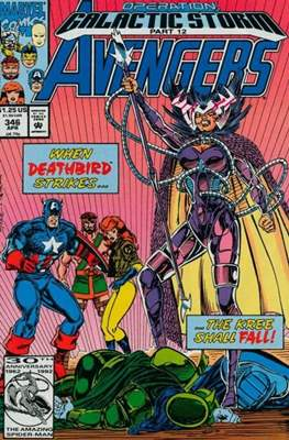 The Avengers Vol. 1 (1963-1996) (Grapa) #346