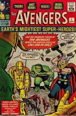 The Avengers Vol. 1 (1963-1996) (Grapa) #1