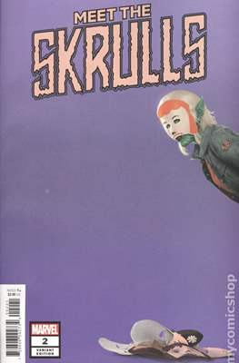Meet the Skrulls (Variant Cover) (Comic Book) #2