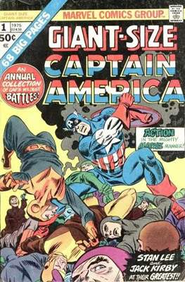 Giant - Size Captain America