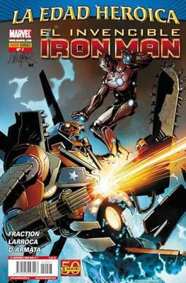 El Invencible Iron Man Vol. 2 (2011-) (Grapa - Rústica) #7