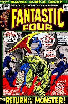 Fantastic Four Vol. 1 (1961-1996) (saddle-stitched) #124