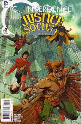 Convergence Justice Society of America (2015) #2