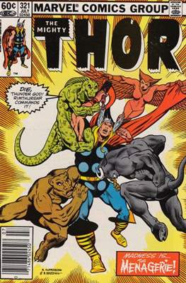 Journey into Mystery / Thor Vol 1 (Comic Book) #321