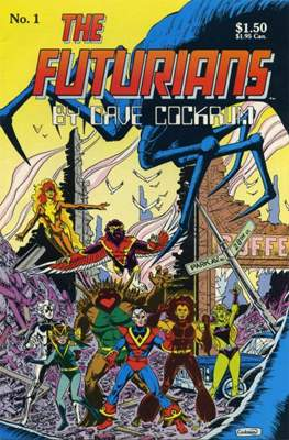 The Futurians by Dave Cockrum