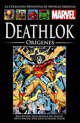 La Colección Definitiva de Novelas Gráficas Marvel (Cartoné) #107