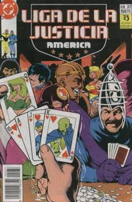 Liga de la Justicia / Liga de la Justicia internacional / Liga de la Justicia de America (1988-1992) (Grapa) #37