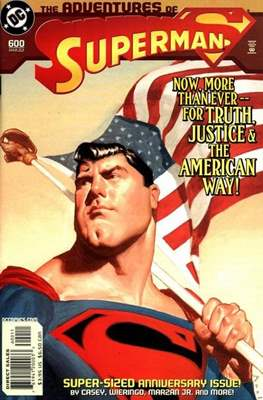 Superman Vol. 1 / Adventures of Superman Vol. 1 (1939-2011) (Comic Book) #600