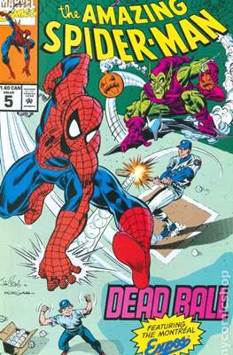 The Amazing Spider-Man: Drug Free Canada (Comic-book) #5