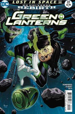 Green Lanterns Vol. 1 (2016-2018) (Comic-book) #22