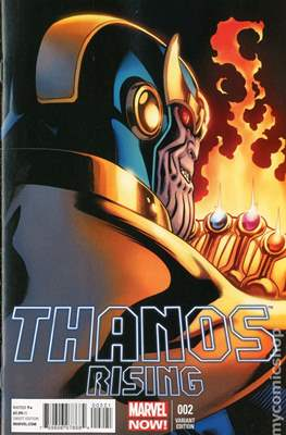 Thanos Rising (Variant Cover) (Comic Book) #2