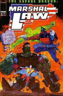 The Savage Dragon & Marshal Law (Cómic. Miniserie de dos números.) #2