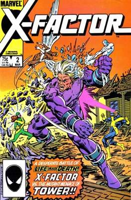 X-Factor Vol. 1 (1986-1998) (Comic Book) #2