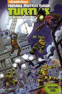 Teenage Mutant Ninja Turtles: New Animated Adventures (Softcover 104 pp) #5
