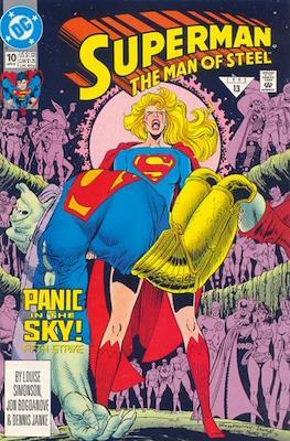 Superman: The Man of Steel #10