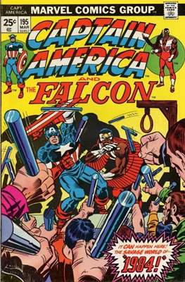 Captain America Vol. 1 (1968-1996) (Comic Book) #195