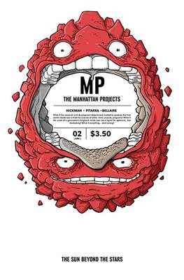 The Manhattan Projects: The Sun Beyond the Stars (Comic-book) #2