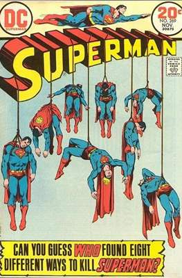 Superman Vol. 1 / Adventures of Superman Vol. 1 (1939-2011) (Comic Book) #269