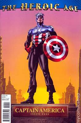 Captain America Vol. 5 (2005-2011 Variant Cover) (Comic Book) #606