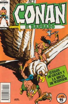Conan el Bárbaro (1983-1994) (Grapa. 19x27. 36/32/24 páginas. Color.) #43