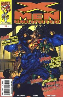 X-Men Unlimited (1997-2000) (Grapa. 56/48/40/32 páginas.) #11