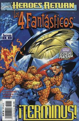 Los 4 Fantásticos Vol. 3 (1998-2001). Heroes Return (Grapa 24-48 pp) #4