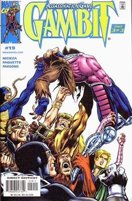 Gambit Vol. 3 (Comic-book) #19