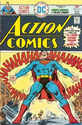 Action Comics Vol. 1 (1938-2011; 2016-) (Comic Book) #450