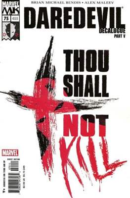 Daredevil Vol. 2 (1998-2011) (Comic-Book) #75 (455)