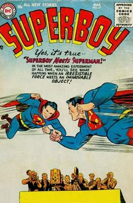 Superboy Vol.1 / Superboy and the Legion of Super-Heroes (Comic Book) #47