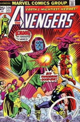 The Avengers Vol. 1 (1963-1996) (Comic Book) #129