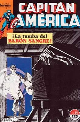 Capitán América Vol. 1 / Marvel Two-in-one: Capitán America & Thor Vol. 1 (1985-1992) (Grapa 32-64 pp) #14