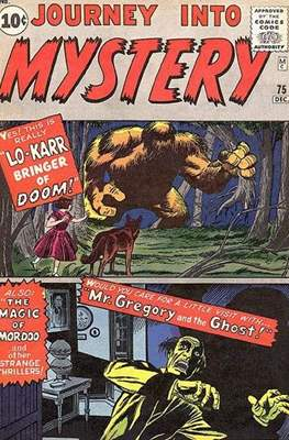 Journey into Mystery / Thor Vol 1 (Comic Book) #75